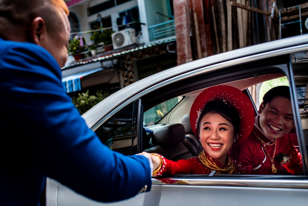 Giap + Nhi | Wedding at China Town, Sai Gon | Huy Nguyen Studios